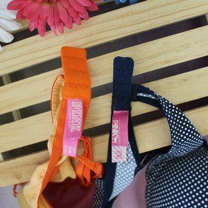 PINK Victoria's Secret Intimates & Sleepwear - Victoria Secret PINK 2 Bras 36B Polka Dot
